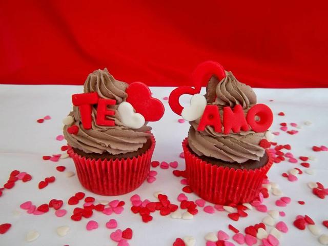 Cupcakes para o Dia dos Namorados