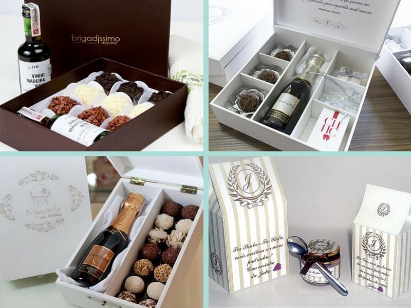 Resultado de imagem para kits personalizados doces gourmet casamento