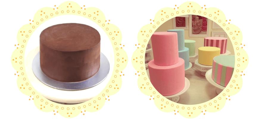 Como deixar o bolo reto
