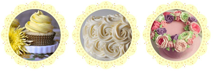 O que é Glossy buttercream