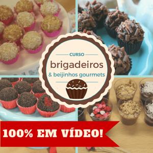 Banner Curso Brigadeiros Gourmets