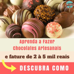 Curso de Chocolates e Trufas Artesanais