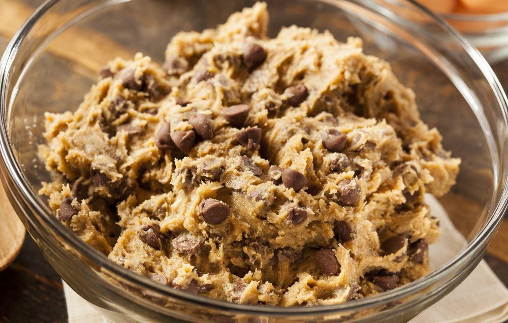 massa de cookies americanos