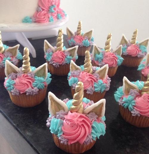 Cupcakes Unicórnio
